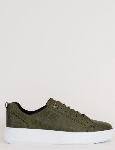 Ανδρικά χακί Casual Sneakers με κορδόνια TL89026D