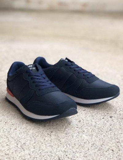 Ανδρικά μπλε Casual Sneakers με κορδόνια TL89028W