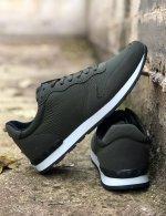 Ανδρικά χακί Casual Sneakers με κορδόνια TL89028