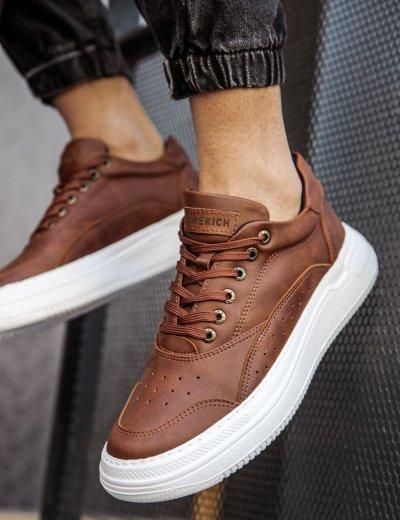 Ανδρικά κάμελ Casual Sneakers CH115