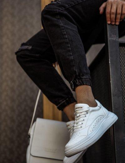 Ανδρικά λευκά Casual Sneakers CH115A