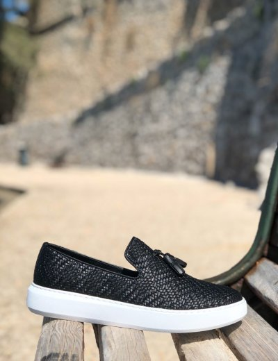 Ben Tailor Collin's ανδρικά μαύρα παπούτσια 2091