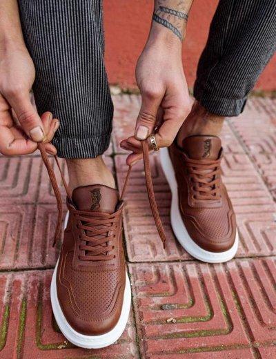 Ανδρικά κάμελ Casual Sneakers δίσολα 7072020