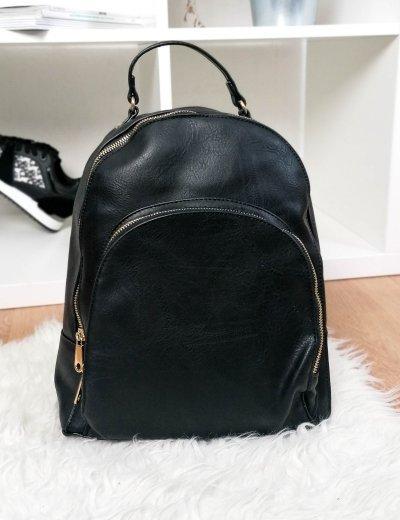 Γυναικείο μαύρο Backpack δερματίνη 0911165