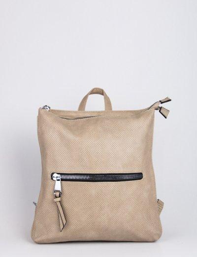Γυναικεία πούρο τσάντα πλάτης τετράγωνη δερματίνη 796850P