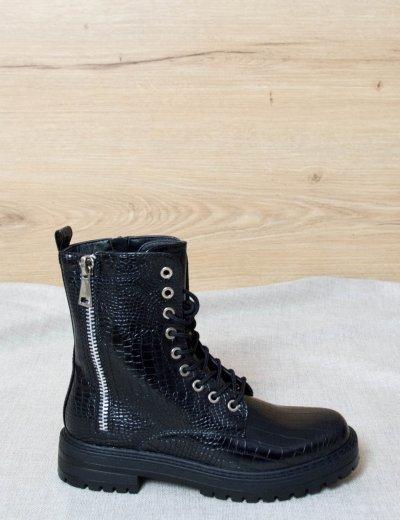 Γυναικεία μαύρα αρβυλάκια 621110D