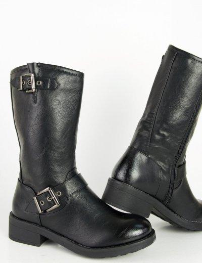 Γυναικείες μαύρες κοντές μπόντες με τόκα J913